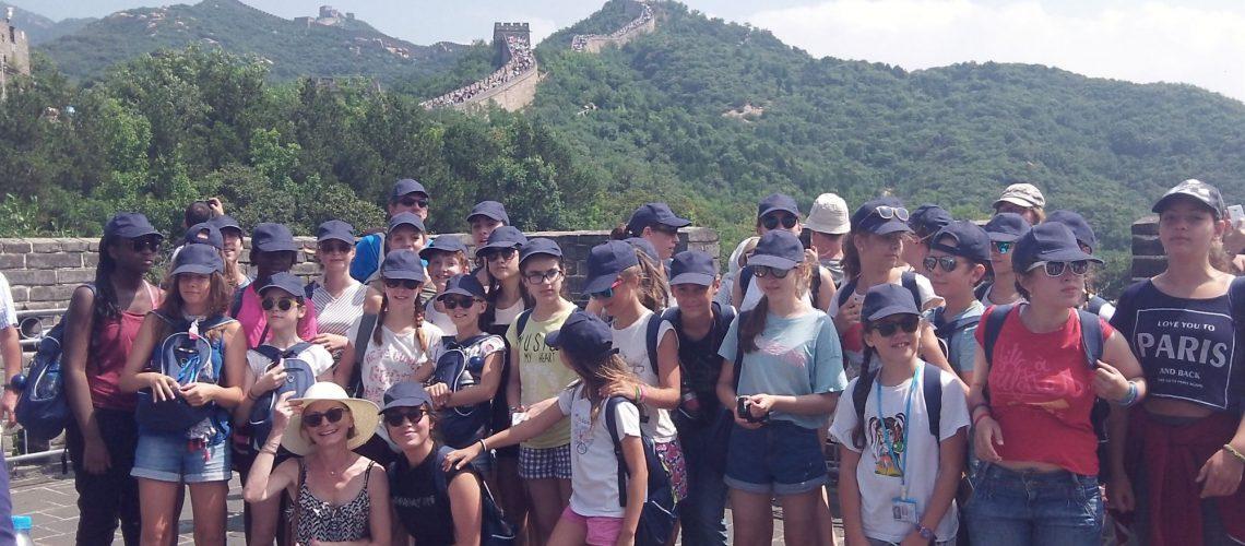 Les Polysons sur la Grande Muraille de Chine