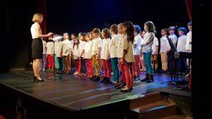 Les Petits Polysons ont donné leur deuxième concert.