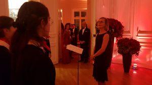 Le Choeur des Polysons accueille le couple royal suédois à Paris